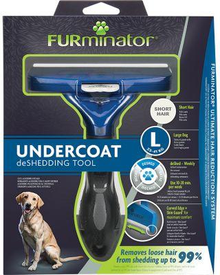 FURminator Undercoat deShedding Tool for Large Sho