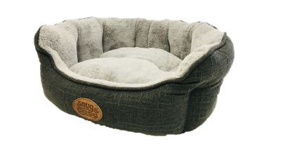 Softie Bed Grey Fur