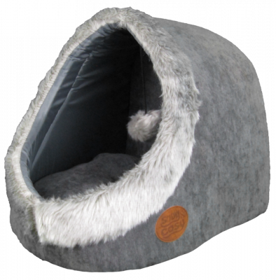 Snug & Cosy Cat Igloo with Ball