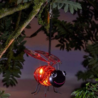 Smart Garden Solar Ladybird Light