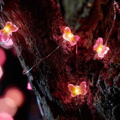 Smart Garden 30 Butterfly Firefly String Lights