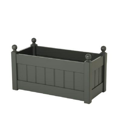 AFK Garden Classic Trough Charcoal 870mm