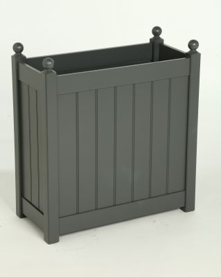 Tall Classic Trough Charcoal