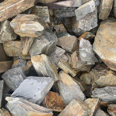 Meadow View Rustic Slate Rockery 250mm