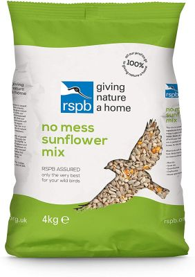 RSPB No Mess Sunflower Mix 4kg