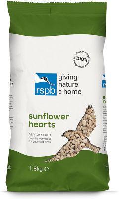 RSPB Sunflower Hearts 1.8kg