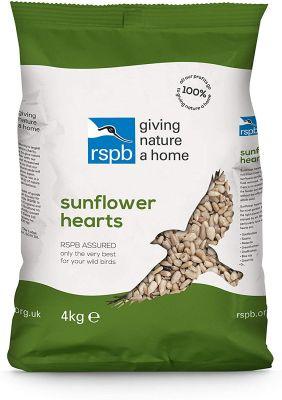 RSPB Sunflower Hearts 4kg