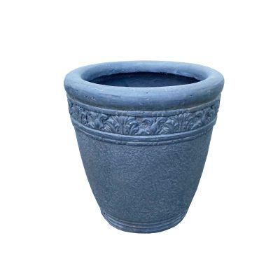 Virginia Round Vase Pebble 32x40