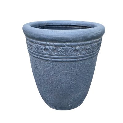 Virginia Round Vase Pebble 44x50