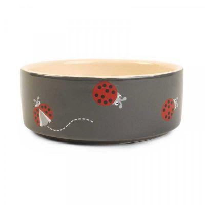 Ladybug Ceramic Bowl   12cm