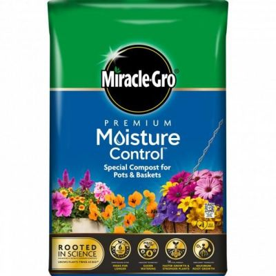 Miracle Gro 40L Premium Moisture Control Compost