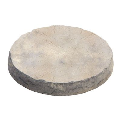 Meadow View Bronte Buff Round Stepping Stone 300mm