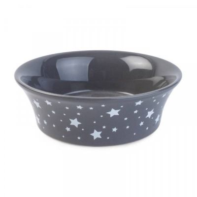 Flared Starry Ceramic Bowl