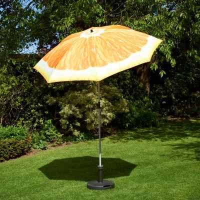Glendale 2m Orange Parasol