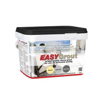 Azpects EASYGrout Porcelain Paving Grout 15kg – Natural
