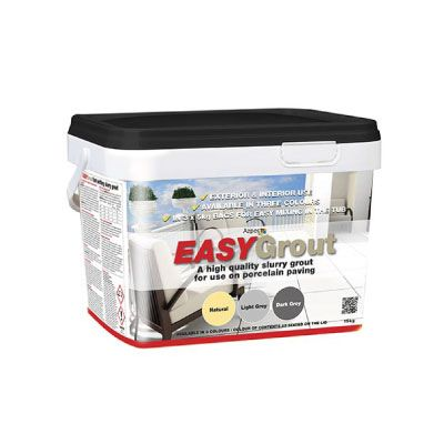 Azpects EASYGrout Porcelain Paving Grout 15kg – Dark Grey
