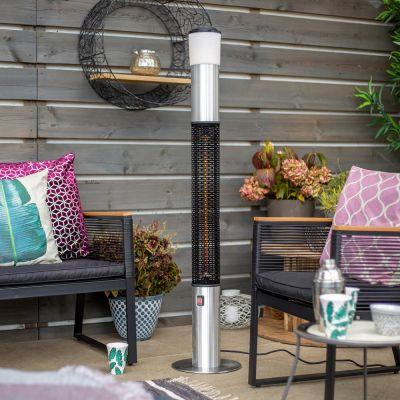 La Hacienda Tower Electric Heater w Speaker