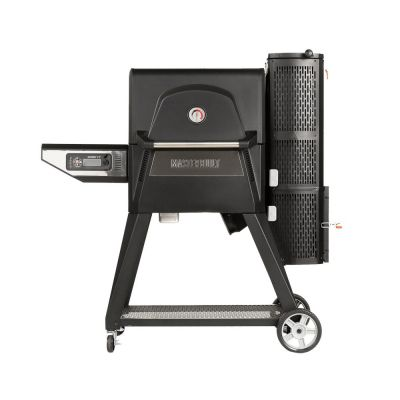 Digital Charcoal Grill & Smoker   Gravity Fed