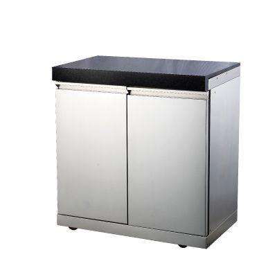 Draco Grills Double Door Cabinet Outdoor Kitchen Module