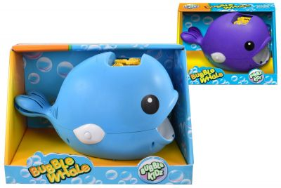 B/O Bubble Whale w Bubbles