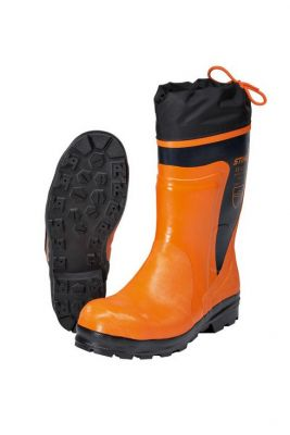 Standard Rubber Chainsaw Boots 9 1/2
