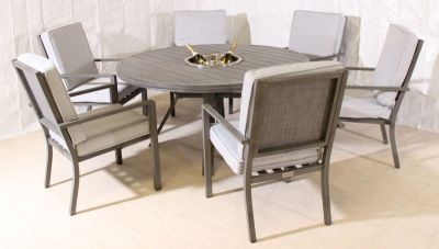 Harbo Biscaya Six Seat Dining Set