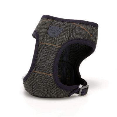 Hugo & Hudson Grey Checked Herringbone Harness XS