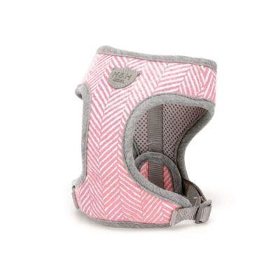 Hugo & Hudson Pink Herringbone Harness XS