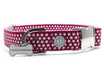 Hugo & Hudson Red Star Collar S