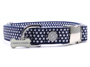 Hugo & Hudson Navy Star Collar L