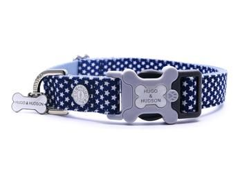 Hugo & Hudson Navy Star Collar XS