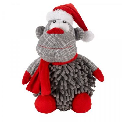 Noodly Santa Monkey Toy
