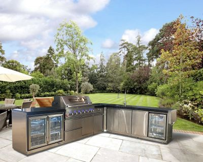 Draco Grills Large Outdoor Kitchen
