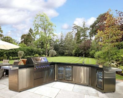 Draco Grills Extra Large Outdoor Kitchen