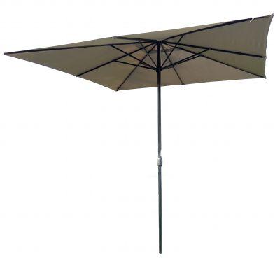 Harbo 3 x 3m Taupe Crank Parasol
