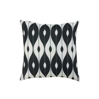 Glendale Black Patterned Scatter Cushion