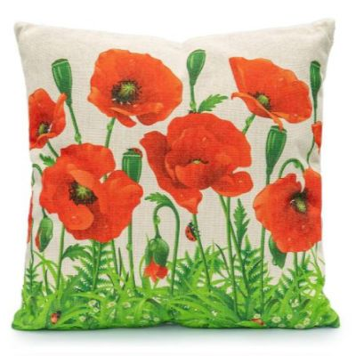 LG Poppy Field Scatter Cushion