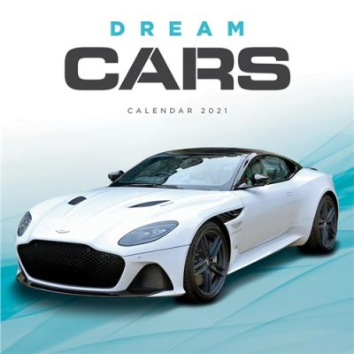 Dream Cars Wall Calendar 2021