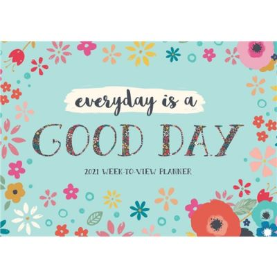 Bohemia Every Day is a Good Day A4 Planner 2021