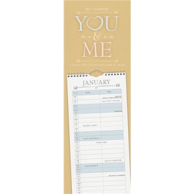 You And Me Slim Planner 2021