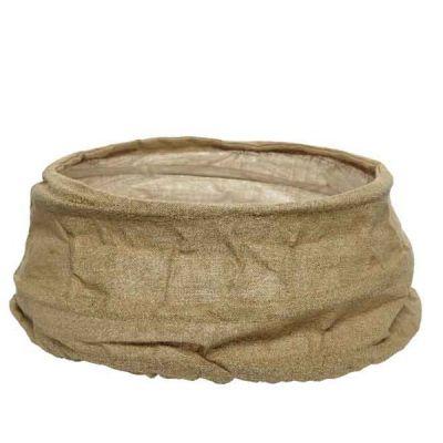 68cm Linen Pop Up Tree Skirt   Natural