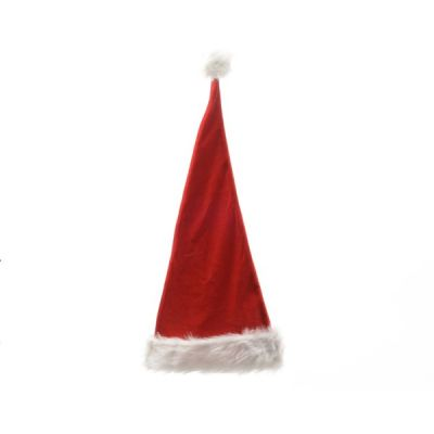 30cm Santa Hat   Red, White