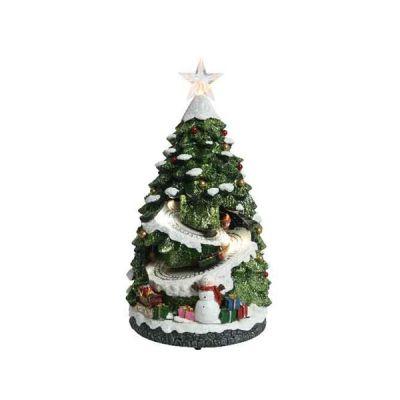 LED Christmas Tree with Train