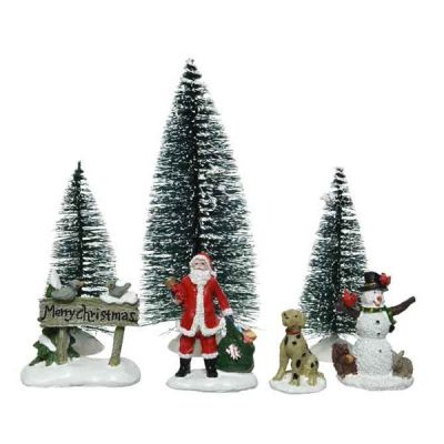 LED Winter Scenery Accessories Set