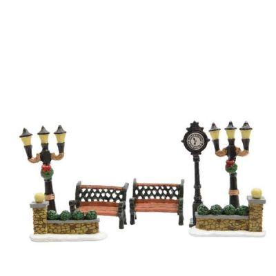LED Street Scenery Accessories Set