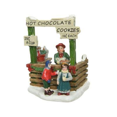 Hot Chocolate Stall Scene Set