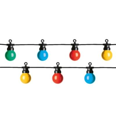 Lumineo Party Lights   Starter Set   Multicoloured 20 Bulbs