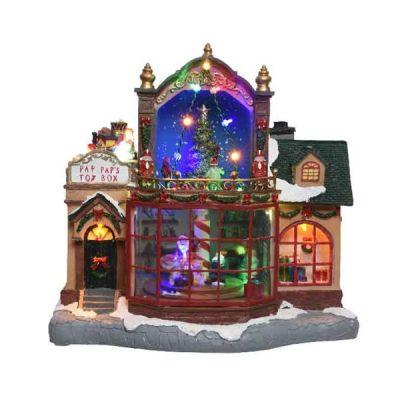 LED Festive Toy Shop   Multicoloured 18 LEDs