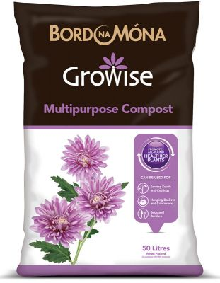 Growise 50L Multipurpose Compost