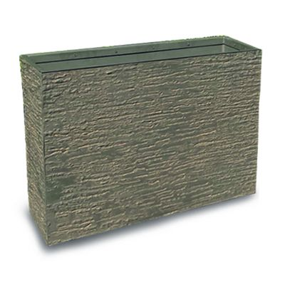 Robert Charles Aged Lite Rectangle Pot Large Sandal Wood